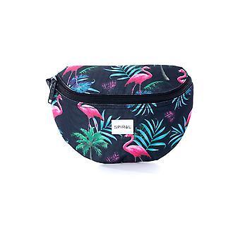 Spiral Tropical Bum Bag