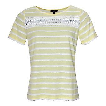 Leo & Ugo Yellow Short Sleeve Stripe T-shirt