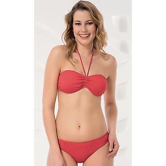 Aqua Perla - dame - Noumea rød - Bikini Top