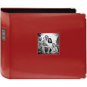 Pioneer 3-Ring Sewn Leatherette Album 12