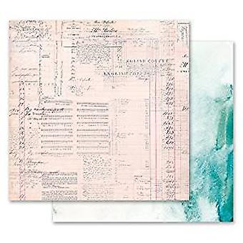 Prima Marketing Misty Rose 12x12 Inch Paper Pack The Untold Story (849290)
