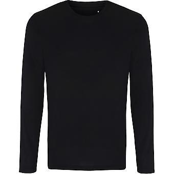 Mirada al aire libre para hombre largo manga ligero drenaje T Shirt