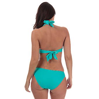 Womens Seafolly Pleated Hipster Bikini Bottoms In Seychelles