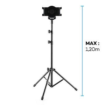 Tablet Tripod 7 to 10 '' Supported Height max 1.2m Rotary 360 ° Adjustable feet