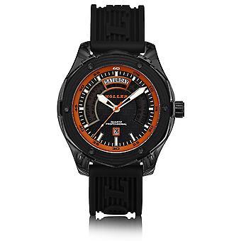 Holler Superfly Black & Orange Watch HLW2351-3
