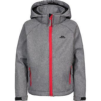 Trespass drenge Tommaso Softshell Hooded zip up jakke