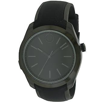 Movado Bold Black Stainless Steel Smartwatch Mens Watch 3660002