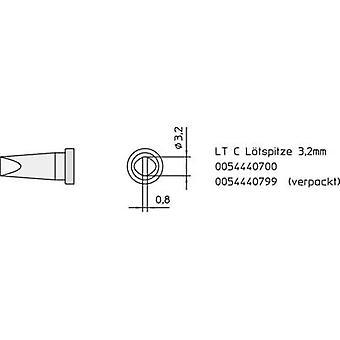 Weller LT-C soldeerpunt beitel vormig, rechte punt maat 3,2 mm inhoud 1 PC (s)