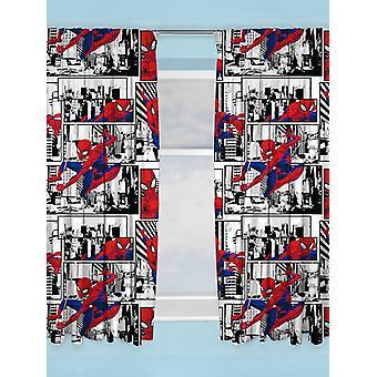 Spiderman Metropolis gordijnen