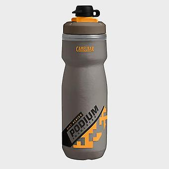 New Camelbak Podium Dirt Series Chill Water Bottle 620ml Grey