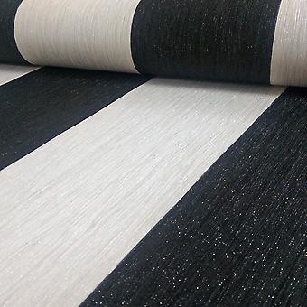 Debona Crystal Stripe wzór w paski teksturowane brokat Vinyl tapeta 9011