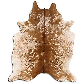 Äkta koskinn 8496 Salt och Peppar Brun och Vit 3-5 M Grade A
