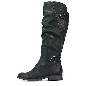 White Mountain Womens Leto Almond Toe Knee High Fashion Boots