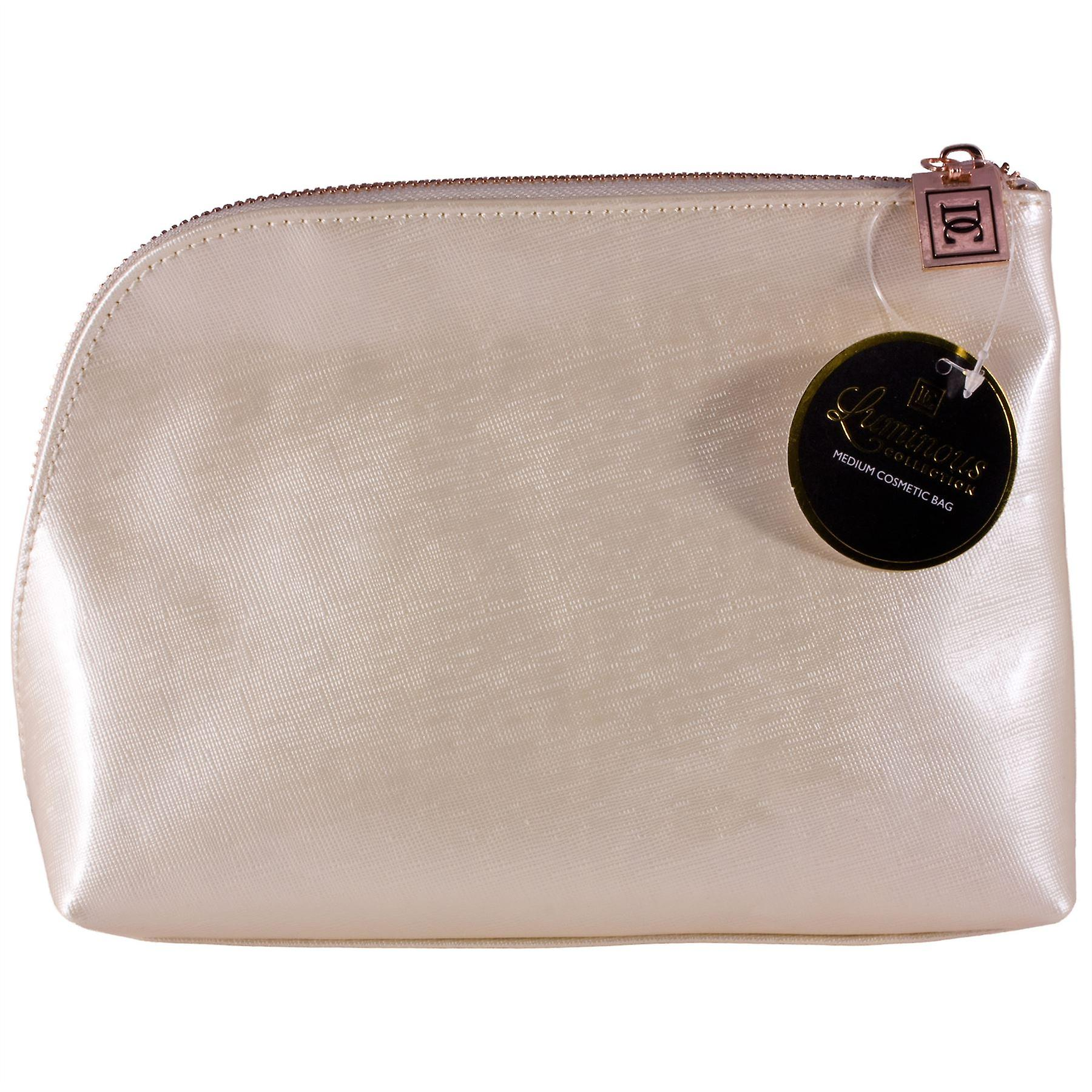 Danielle Creations Luminous Collection Medium Size Makeup Bag - Cream