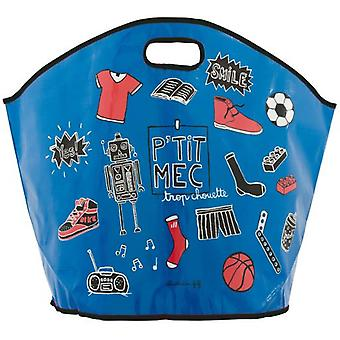 Derrière la Porte Child Toys bag P'Tit Mec (Storage and organization)