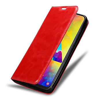 Cadorabo Case for Samsung Galaxy M20 Case Cover - Phone Case with Magnetic Closure, Stand Function and Card Case Compartment - Case Cover Case Case Case Case Book Folding Style