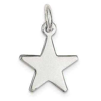925 Sterling Silver Solid Polished Engravable Pendant Necklace Jewelry Gifts for Women - 2.7 Grams
