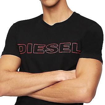 DIESEL UMLT Jake Crew Neck T-shirt , Zwart, X-Large