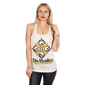 Women-apos;s The Beatles Yellow Submarine and Portholes Vest Top (en)