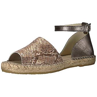 Kenneth Cole New York Women's Sammy Flat Espadrille with Ankle Strap Wedge Sa...