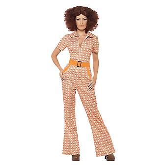 Mujer años 70 auténtico Chic disfraz