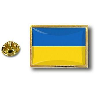 Pine PineS rinta nappi PIN-apos; s metalli perhonen harja lippu Ukraina Ukraina