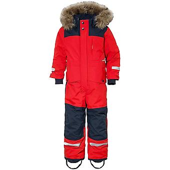 Didriksons Kids Bjornen Coverall 3 - Chili Red