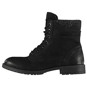 Firetrap Womens Damen Mystische Lace-Up Military Combat Biker Stiefel Winterschuhe