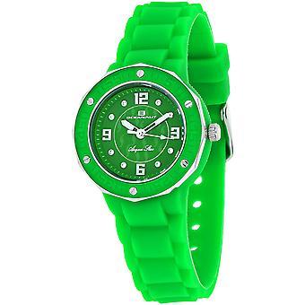 Oceanaut Women's Acqua Star Green Dial Watch - OC0439