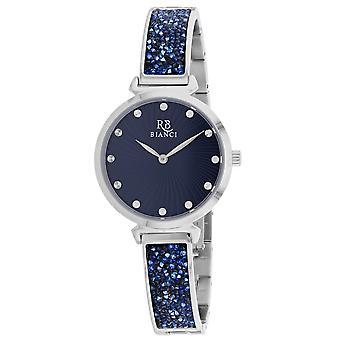 Roberto Bianci Femmes apos;s Brillare Blue Dial Watch - RB0202