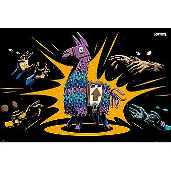 Fortnite Beute Lama Maxi Poster 61x91.5cm
