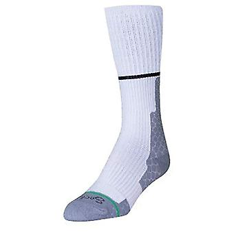 Socks - Sockguy - Lacrosse Padded White Top Padded S/M Cycling/Running