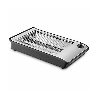 Toaster COMELEC TP7064 600 W Black stainless steel