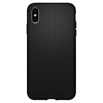 Romp voor iPhone Xs Max Liquid Air Black Mat