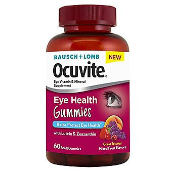 Bausch & lomb ocuvite eye health gummies, mixed fruit flavors, 60 ea