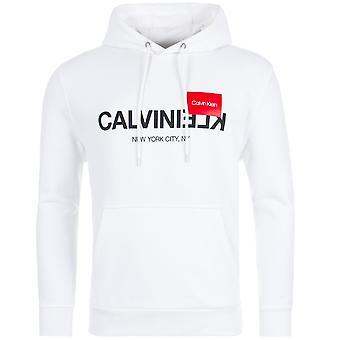 Calvin Klein Inverti Logo Felpa con cappuccio
