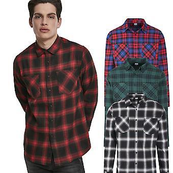 Urban Classics-FLANELL ruudullinen Lumberjack paita
