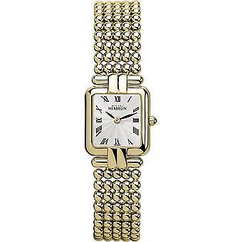 Michel Herbelin 17473-BP08 Ladies Perle Bracelet Wristwatch