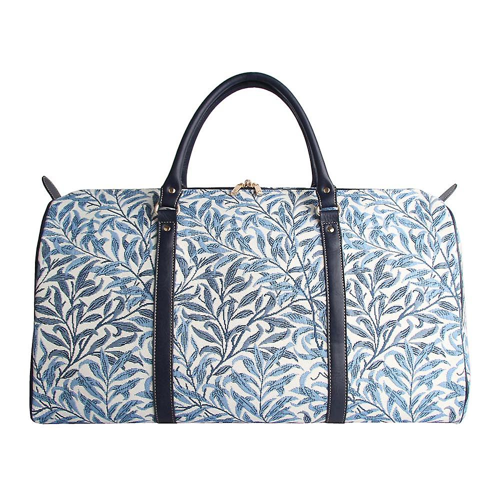 William morris - willow bough travel holdall by signare tapestry / bhold-wiow