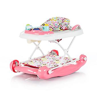 Chipolino running trolley Lilly 3 in 1 play center, height adjustable, seesaw, music