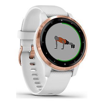 Garmin-SmartWatch-VivoActive 4S hvid rosa guld-010-02172-22