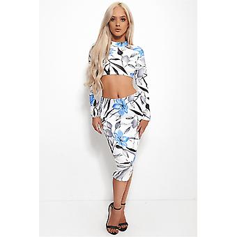Blossom Blu Floral Co-Ord