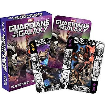Marvel - guardians of the galaxy comics playing cards
