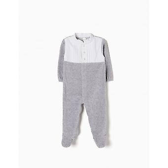 Zippy Babygrow Grey Melange