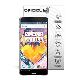 Celicious Impact Anti-Shock Shatterproof Screen Protector Film Compatible with OnePlus 3T