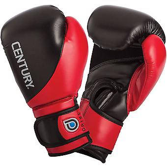 Century Drive Hook and Loop Training Boxing Gloves - 14 oz. - Red/Black