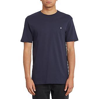 Volcom Stone Blanks Short Sleeve T-Shirt in Navy