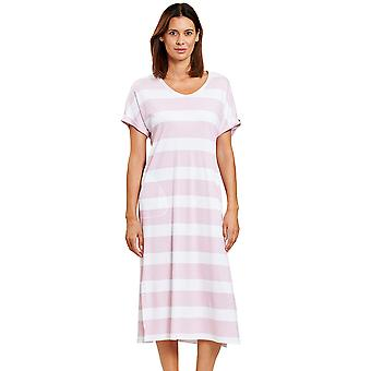 Rosch 1203059-15644 Women's Smart Casual Ringlet Pink Striped Nightdress