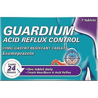 Houdtabbladen voor Guardium-besturing