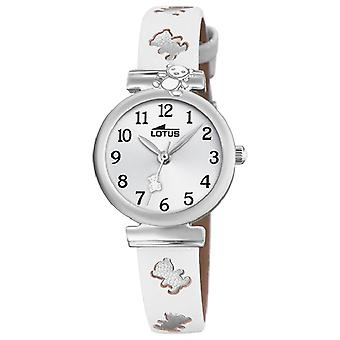 Lotus watches Quartz Analog Child Watch with Cowhide Bracelet 18627/1